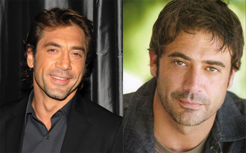 Javier Bardem, Jeffrey Dean Morgan