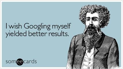 Googling Myself