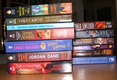 thirteen books from RWA